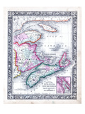 1864  Canada  New Brunswick  Nova Scotia  Prince Edward Island  North America  Nova Scotia
