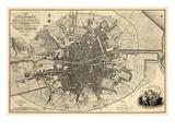 1797, Ireland, Dublin Giclée