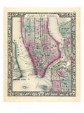 1864  New York  New York  Brooklyn  Manhattan  Jersey City  Hoboken