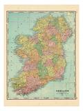 1906, Ireland, Europe Giclée