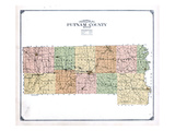 1916  Putnam County Topographical Map  Missouri  United States