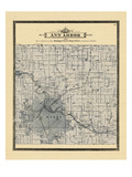 1895, Ann Arbor Township, Michigan, United States Giclée