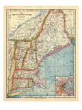 1883  New England 1883  Maine  United States