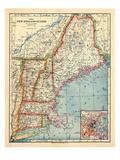 1883  New England 1883  Maine  United States