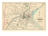 1893  Hartford City - Central Part  Connecticut  United States