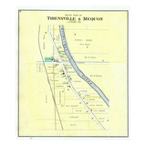 1892  Thiensville and Mequon - South  Wisconsin  United States