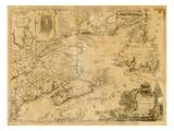 1759, Nouveau Brunswick, Terre-neuve et Labrador, Nouvelle-Écosse, Ile du Prince Edouard Giclée
