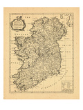 1741, Ireland Giclée