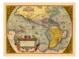 1603  North America  South America  Western Hemisphere