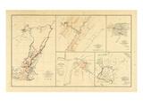 1891  Civil War Atlas  Virgina  Tennessee