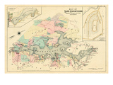 1887  Lake Hopatcong  Morris  Sussex Counties  Landing  New Jersey  United States
