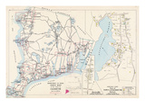 1905  Falmouth Town - Index Map  Falmouth Town - Quisset  Massachusetts  United States