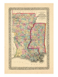 1867  Arkansas  Louisiana  Mississippi