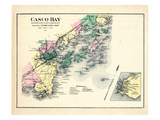 1884  Casco Bay  Scarborough  Cape Elizabeth  Portland  Falmouth  Cumberland  Yarmouth