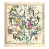 1835  Constellations July - September