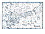 1950  Amador County 1950c  California  United States