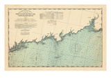1893  Coast Survey  Norwalk Islands  Southwest Ledge  Long Island Sound  Connecticut