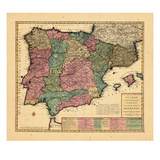 1700  Portugal  Spain
