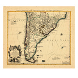 1721  Argentina  Chile  South America