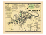 1869  Woodstock Town  Vermont  United States