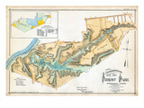 1899  Forest Park Topographical Map  Massachusetts  United States