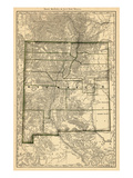 1879  New Mexico State Map  New Mexico  United States