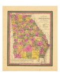 1846, Georgia, United States Giclée
