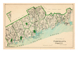 1893  Fairfield County - South Part  Connecticut  United States