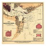 1860s  Charleston Harbor Chart South Carolina  South Carolina  United States