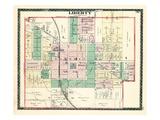 1884, Liberty, Indiana, United States Giclée