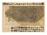 Buffalo 1902 Bird's Eye View 16x23  New York  United States