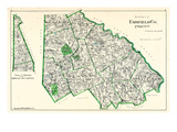 1893  Fairfield County - North Part  Sherman  New Fairfield North  Connecticut  United States