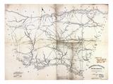 1825  Barnwell District surveyed 1818  South Carolina  United States