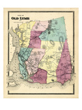 1868  Old Lyme Town  Connecticut  United States