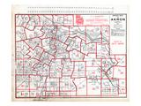 1891  Index Map - Akron Street Map  Ohio  United States