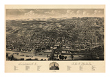 Albany 1879 Bird's Eye View