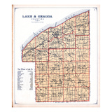1898  Lake and Geauga Counties  Ohio  United States