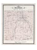 1896  Milford Township  Lake Sears  Huron River  Kent Lake  Michigan  United States