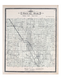 1896  Royal Oak Township  Urban Rest  Red Run  Michigan  United States