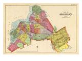 1890  Brooklyn City Map  New York  United States