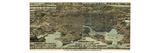 1869  Baltimore Bird's Eye View  Maryland  United States