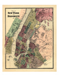 1867  New York & Brooklyn Plan  New York  United States