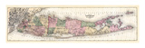 1873  Long Island Map  New York  United States