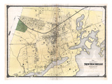 1867  New Rochelle Plan  New York  United States
