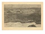 1874  Saratoga Springs 1874 Bird's Eye View  New York  United States
