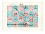 1929  Minnehaha County Map  South Dakota  United States