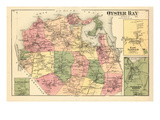 1873  Oyster Bay  Norwich Town East  Oyster Bay Harbor  Lattingtow Town  New York  United States