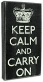 Keep Calm Box Sign