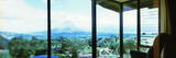 Mountain Range Viewed from a Lodge  Arenal Region  Costa Rica