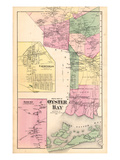 1873  Oyster Bay South Part  Farmingdale Town  Jericho Town  New York  United States